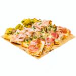 A domicilio Con cosaporto in esclusiva la consegna a domicilio dell'aperitivo pizza di Bonci.