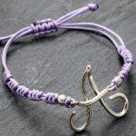 gioielli capuano bracciale iniziale filo cosaporto