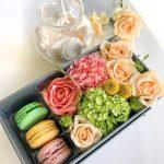 confezione originale macarons fiori i do flowers cosaporto