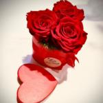 Scatola cuore rose rosse Eredi Bagatin consegna a domicilio cosaporto