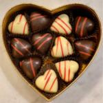 Cuori cioccolato Odilla Rabezzana Cosaporto