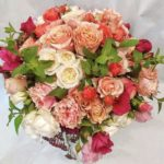 Bouquet Rose e Menta fiorile ordina online su Cosaporto.it
