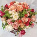 Bouquet Rose e Menta fiorile ordina online su Cosaporto.it