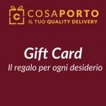 Gift card 5 euro con Cosaporto