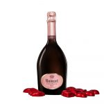 Champagne Rosé Ruinart con cioccolatini di Zàini Milano consegna a domicilio con Cosaporto