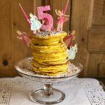 kit torta pancake a domicilio con cosaporto