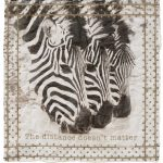 Fazzoletto cotone stampa zebra Massimo Alba consegna a domicilio con Cosaporto