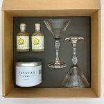Box Aperitivo Martini Dry Opificio 77 consegna a domicilio con Cosaporto